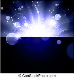 星系, 摘要, 明亮, 背景