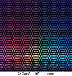 星, 光, 摘要, 迪斯科, 背景。, multicolor, vector., 象素, 馬賽克