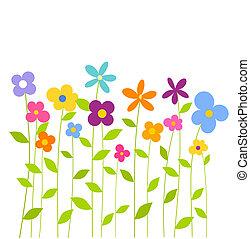 春天花, 鮮艷