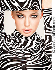 時裝, zebra