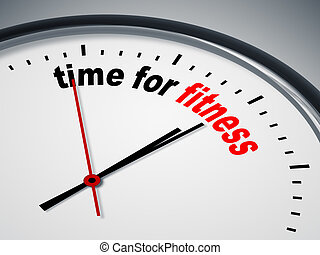 時間, 健身