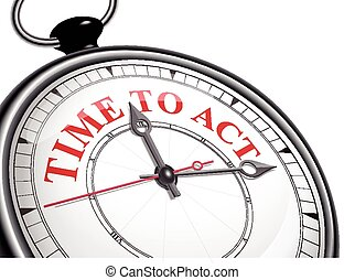 時間, 概念, 鐘, 行動