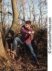 時髦, lumberjack