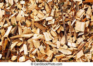 晶片, 木頭