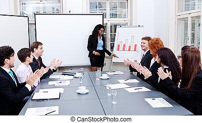 會議, 訓練, 表達, 商業組