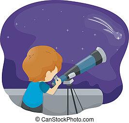 望遠鏡, 孩子