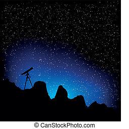 望遠鏡, 星