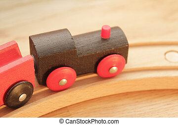 木制的火車