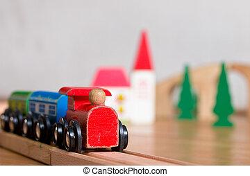 木制的玩具, 訓練, 場景