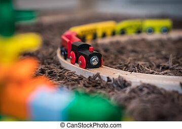 木制的玩具, 訓練, 顏色