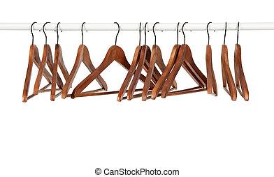 木制, 很多, 吊架, 鞭笞