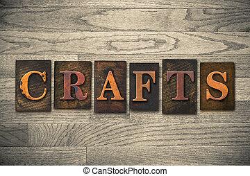 木制, 概念, 類型, letterpress, 工藝