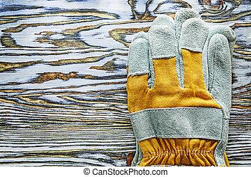 木制, 防護手套, 板