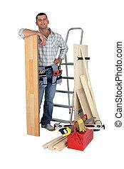 木匠, 地板