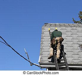 木匠, 屋頂