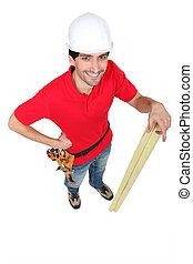 木匠, 站, 暫存工, 木材