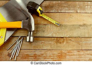 木頭, 工具
