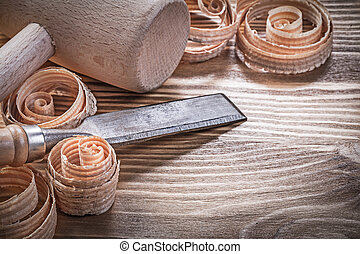 木頭, 木制, 葡萄酒, 鑿子, firmer, 刨, 蟒蛇, 錘子, 捲曲