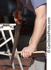 木頭, 鋸