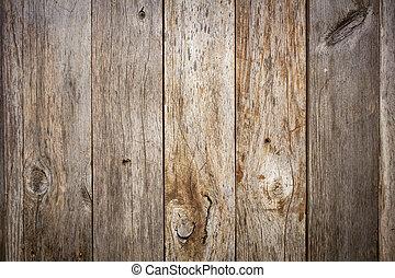 木頭, grunge, 風化, 穀倉
