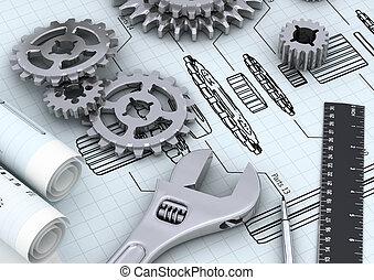 机械, 概念, 專案