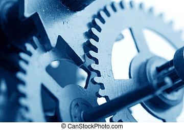 机械, 齒輪, 鐘
