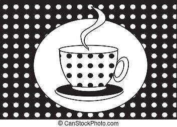 杯子, tea(coffee).