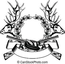 框架, 帽子, 打獵