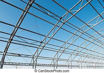 框架, 建設, 金屬