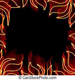 框架, 火熱