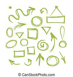 框架, 略述, 箭, 你, 設計