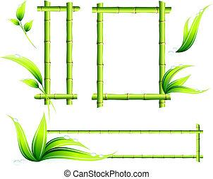框架, 竹子