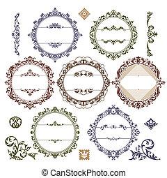 框架, 葡萄酒, 集合, 皇家