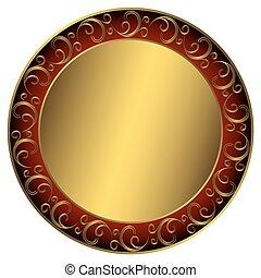 框架, golden-red-black