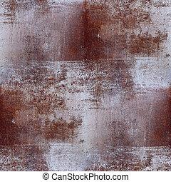 棕色的背景, 牆紙, seamless, 結構, 鐵, 鏽