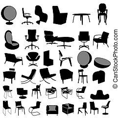 椅子, 彙整