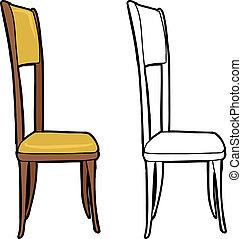 椅子, 被隔离