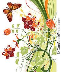 植物群的設計