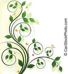 植物群的設計, 背景