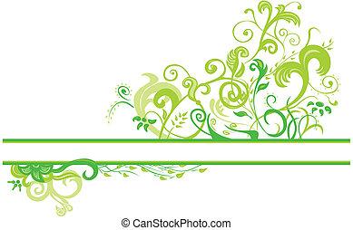 植物, 春天, 設計