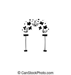 植物, 標識語, 元素