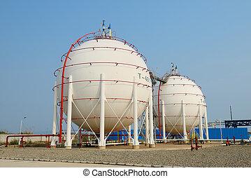 植物, 石油化學產品, 气体, 坦克