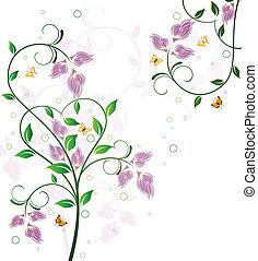 植物, 背景, 設計