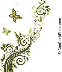 植物, 葡萄酒, 設計