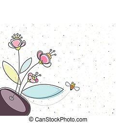 植物, 蜜蜂