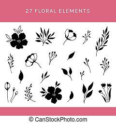 植物, 集合, 元素