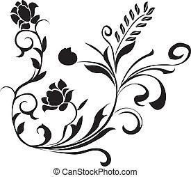 植物, 黑色