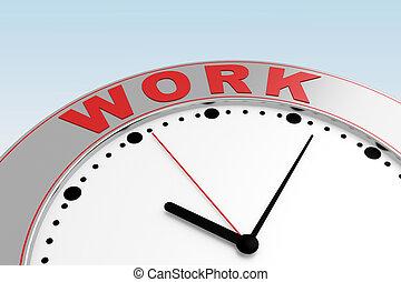 概念, 時間, 工作