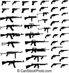 槍, 大, 彙整