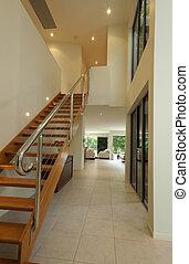 樓梯, 大廳, 方式